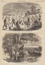 civil war prints illustrations from illustrated newspapers from 1861