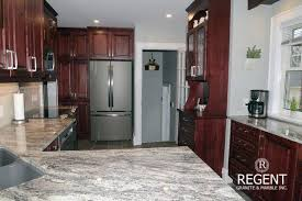what color granite looks best with cherry cabinets choosing the best countertops for your wood cabinets