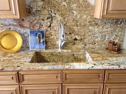 kitchen classy backsplash and granite countertop ideas cream