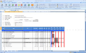 Gantt Chart In Excel Template Free Sle Chart Templates Gantt Chart Template Docs Free