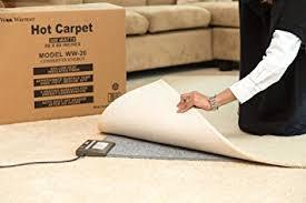 amazon com 180 watt carpet woo warmer rug instant