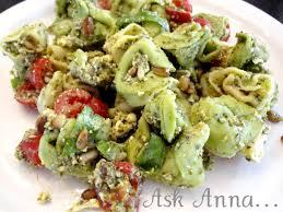 pasta salad pesto basil pesto pasta salad ask anna