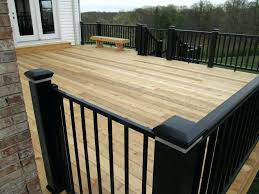 modern black rails for cedar deck st mo by railing designs cable