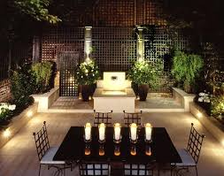 Patio Lights Uk Modern Garden Patio Exterior With Custom Led Lighting Ideas Garden