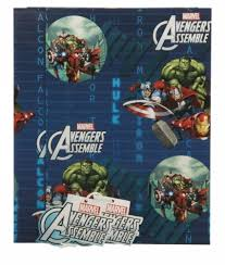 marvel wrapping paper marvel assemble wrapping paper pack whsmith