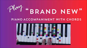Wildfire Chords Easy by Brand New Easy Piano Tutorial Ben Rector Youtube