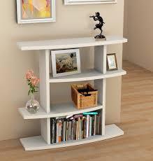 Console Bookshelves by Amazon Com Convenience Concepts Northfield Wave Bookcase Console