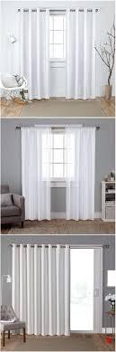 In Store Curtains Curtain In Store Curtains Polyester Back Tab Light Filtering