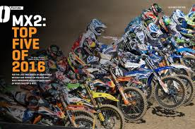 best freestyle motocross riders best mx2 riders of 2016 u2013 on track off road magazine