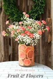 arrangement fruit diy fruit floral arrangement refresh restyle