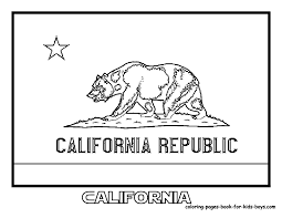 california state symbols coloring page and coloring pages eson me