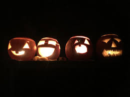 free images glowing fall spooky dark orange pumpkin
