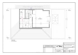 Loft Conversion Floor Plans by Build My Bungalow Plans Architect Drawings