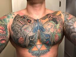 chest plate finished done by tim derose at goodkind