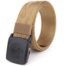 allergic to belt buckle 2017 korean style adjustable weaving belt anti allergy