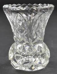 Vintage Cut Glass Vases Vintage Cut Glass Small Vase Google Search Glass Pinterest