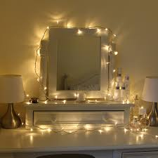 Outdoor Bedrooms by Pretty Warm Bedroom Fairylights Around A Dresser Ideas For Home