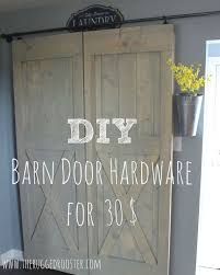 How To Install Barn Door Hardware 30 Easy Sliding Barn Door Hardware Hometalk