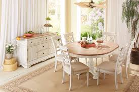 cottage dining room furniture cottage farmhouse distressed white natural solid farmhouse round