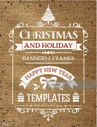retro christmas ornaments template on burlap vector art getty images