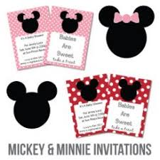 Free Mickey Mouse Baby Shower Invitation Templates - the cutest baby shower invitations cutestbabyshowers com