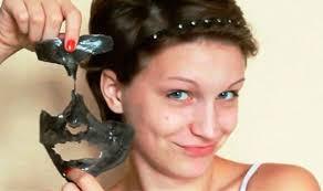 Masker Vir geaktiveerde houtskool gelatien gesigmasker gesigsmasker diep
