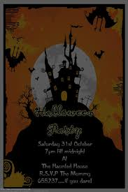 halloween birthday invitation templates free u2013 festival collections