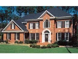 Brick Colonial House Plans 64 Best House Plans Images On Pinterest Historic Houses