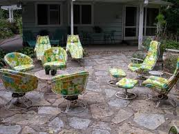 Retro Patio Chair Vintage Patio Table And Chairs Gccourt House