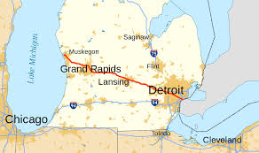 Map Of Ann Arbor Michigan by U S Route 16 In Michigan Wikipedia