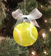 sparkling tennis ornament tennis tennis