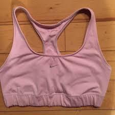 light pink sports bra nike tops light pink sports bra size s poshmark