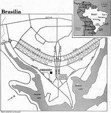 map of brasilia map of brasilia brazil
