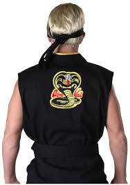 Toddler Halloween Shirt by Authentic Karate Kid Cobra Kai Costume