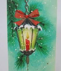 135 best cards christmas lanterns images on pinterest vintage