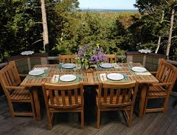 nice teak patio dining set house design ideas teak patio furniture