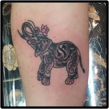 indian elephant tattoos symbolism and design ideas art and design