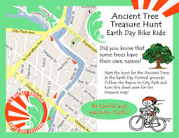 New Orleans City Park Map by Update Ancient Tree Treasure Hunt Bike Ride Will Be All Day