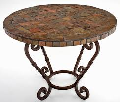 Slate Top Coffee Table Coffee Table Brown Round Slate Coffee Table Slate Coffee Tables