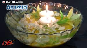 diy easy ocean style centerpiece table decoration christmas and