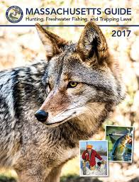 Massachusetts wildlife images Massachusetts hunting fishing seasons regulations 2017 jpg