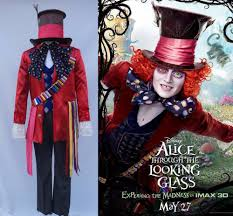 alice in wonderland costume halloween city aliexpress com buy alice in wonderland 2 mad hatter cosplay
