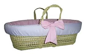 Baby Moses Basket Bedding Set Baby Doll Bedding Reversible Moses Basket Bedding Set