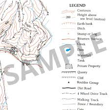 Lebanon Hills Map Black Hill Conservation Park Topographic Map The Friends Of The