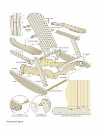 woodcraft adirondack chair plans lovely pdf diy woodworking projects rocking chair
