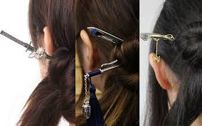 japanese hair pin traditional japanese hairpins modeled after the weapons of feudal