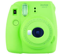 buy instax l grn mini 9 instant camera lime green free