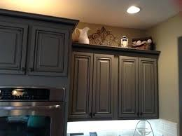 how to decorate the top of my kitchen cabinets space above your