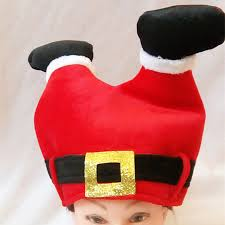 santa hats creative trousers christmas decorations hats christmas ornaments