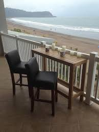 apartment furniture balcony elegant and comfortable wooden